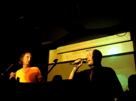 NE performing EXPLOSION/STILLE in Madame Claude, Berlin (taken by Nadine Voigt)