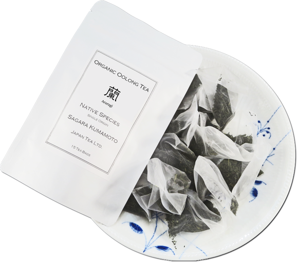 "Organic Oolong ""Araragi"" 3 g tea bags 15 pieces"