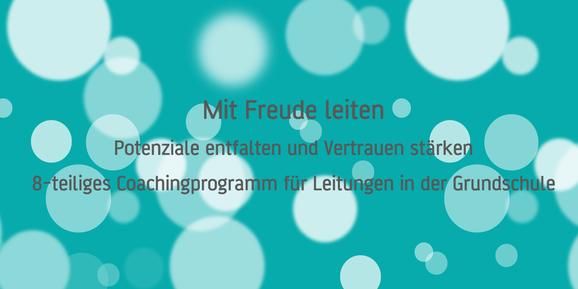 Leitungscoaching für Grundschule - achtsammitdir.de - 1:1 - online oder vor Ort - Simone Eichhorn - Düsseldorf - NRW