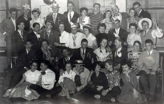Karnevalsfest - Ende 50er Jahre