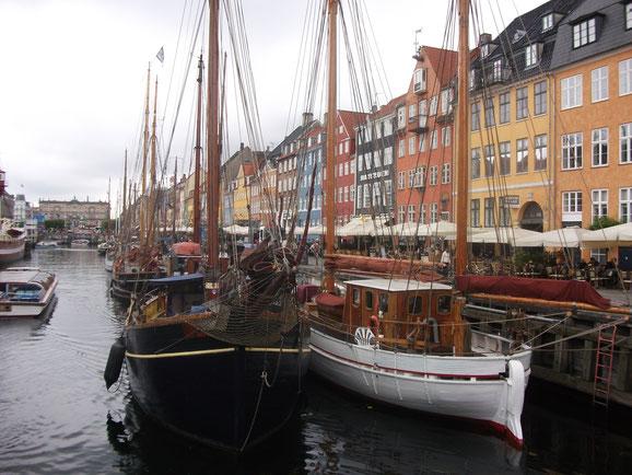 Nyhavn in Kopenhagen.