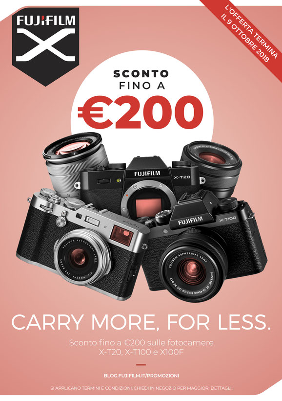Promozione Settembre Fujifilm Sodini