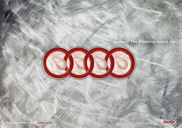 Audi Quattro, Print GQ