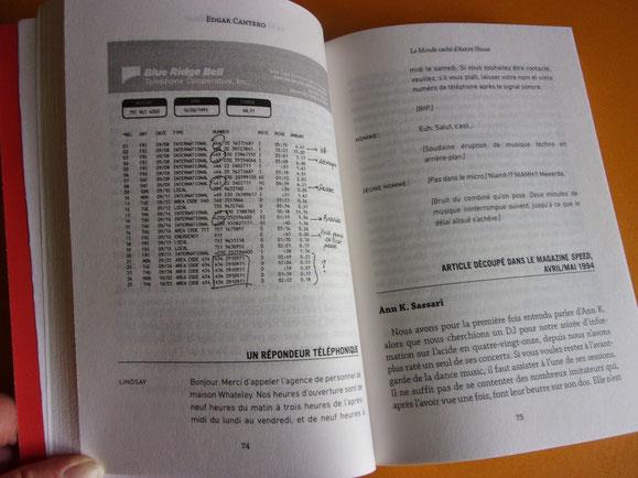 Intérieur du livre pour certains passages