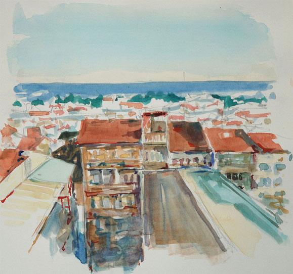 Istanbul - Aussicht vom Restaurant aus