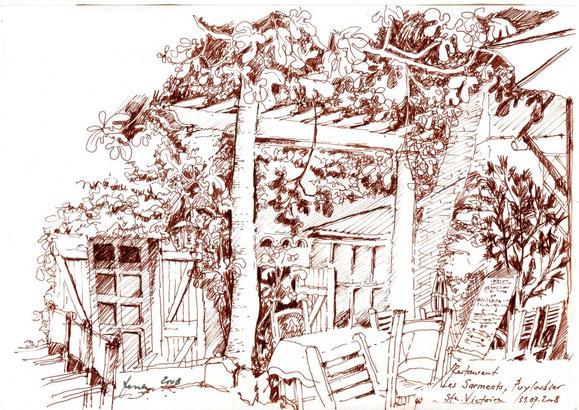 Provence, Puyloubier 2008 (Filzstift)