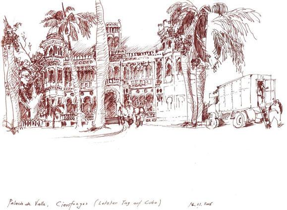 Cienfuegos, Cuba 2006 (Filzstift)
