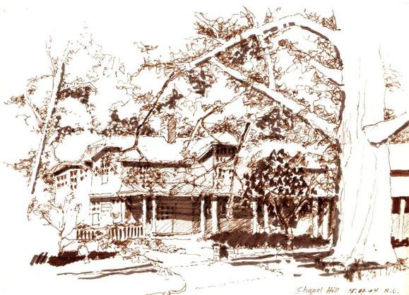 Chapel Hill USA 2004 (Filzstift)