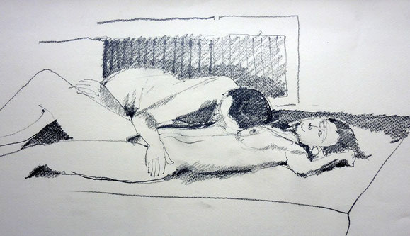 Mich & Gordula (Bleistift)