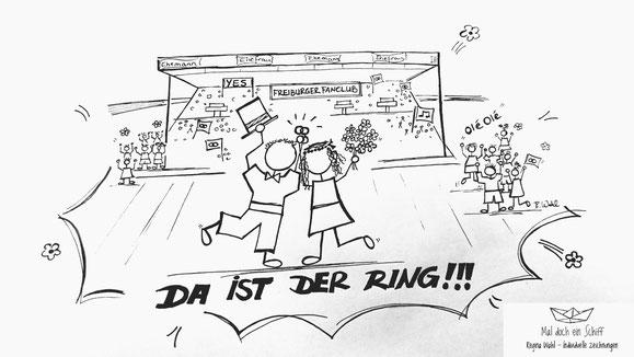 Hochzeit Fußball Hochzeitsgeschenk Jubel Maldocheinschiff