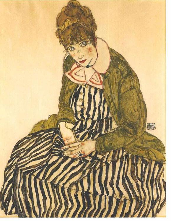 「エディス・シーレ」(1915年)