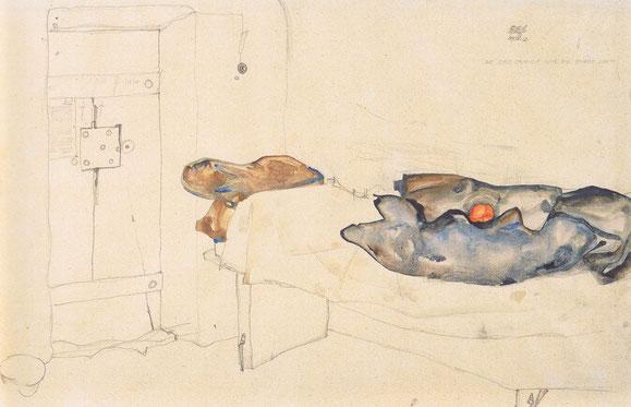 『ノイレングバッハ刑務所の天井』(1912年)