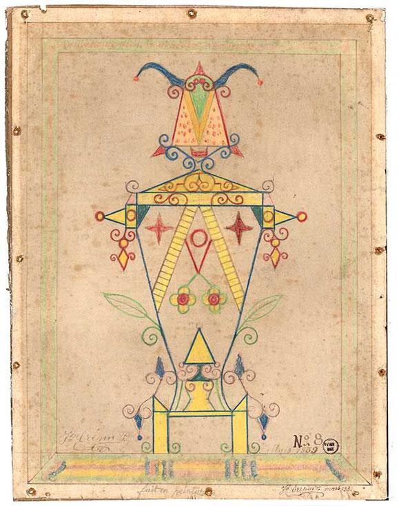 『dessin n°8』(1939年)