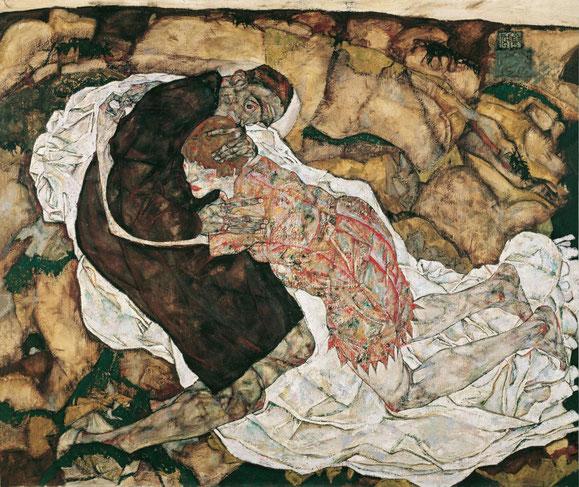 「死と処女」(1915年)