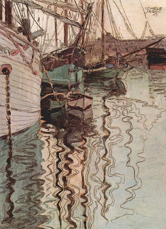 『トリエステ港』(1907年)