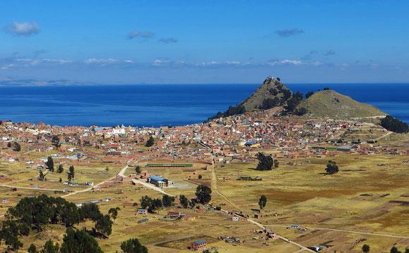 Cobacabana am Titicacasee.