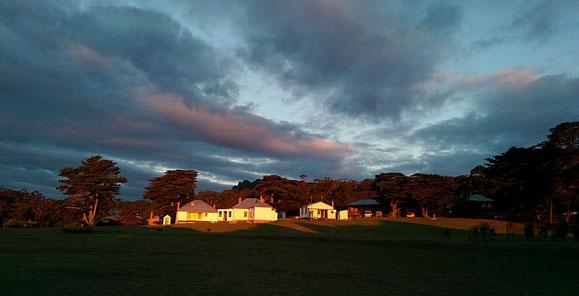 Darlington auf Maria Island. Wo heute nur noch Ranger wohnen, lebten in den 1890er Jahren 250 Menschen.