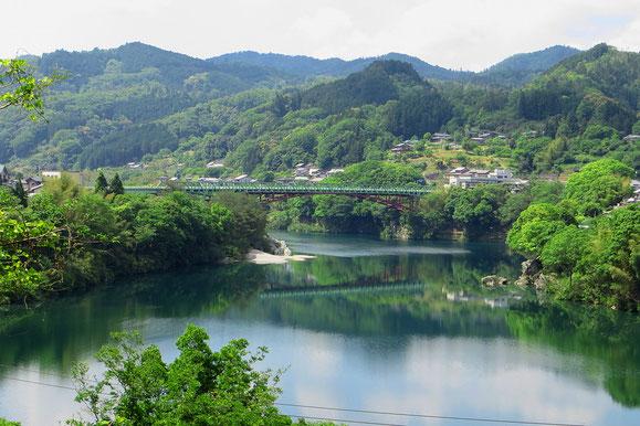 Auf Shikoku, der kleinsten der japanischen Hauptinseln.