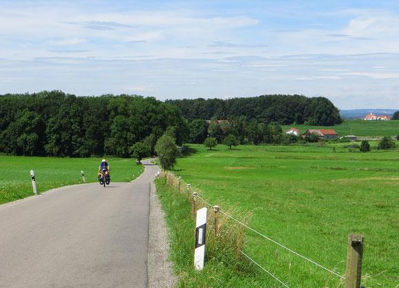 Die Ostvariante des Donau-Bodenseeradwegs hat uns sehr gefallen.