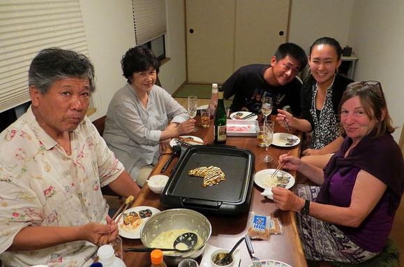 Okonomiyaki - heute futtern wir bis die Ohren wackeln.