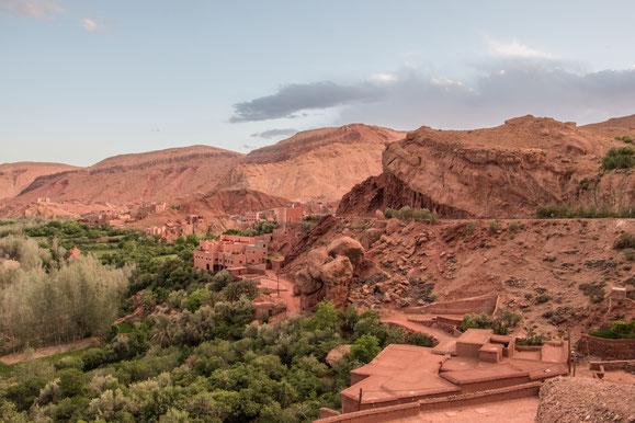 Viaggio in Marocco: panorami del sud del Marocco.