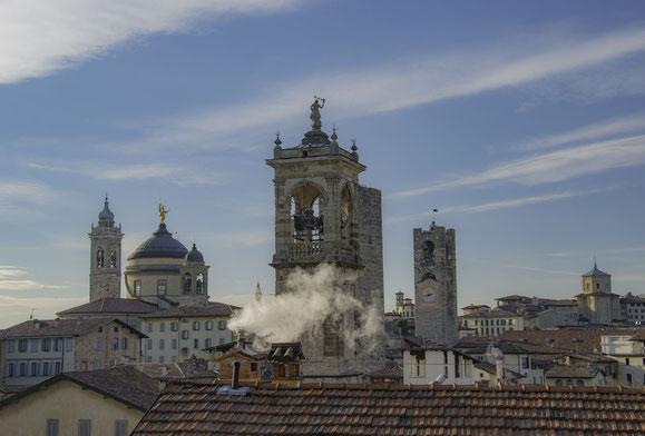 Torri e campanili di Bergamo Alta