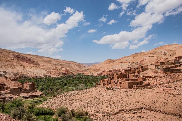 Kasbah e Panorami del Viaggio in Marocco