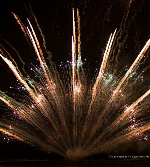 yu-photographs,yakushima,fireworks