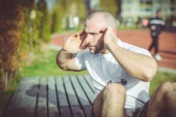 Personaltraining  Mann Outdoor