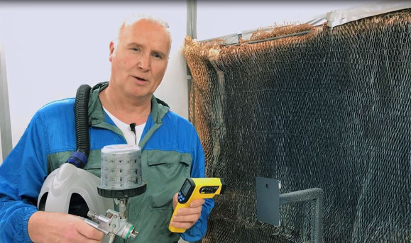 Erik van Dorp, technicien chez AkzoNobel.