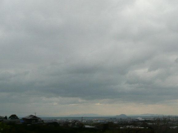 愛媛県伊予市、今日の空。