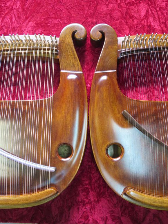 竪琴 ライアー てるる詩の木工房 てるる 41弦 39弦 leier lyre コンサートライアー 沖縄竪琴 竪琴の音色