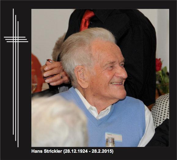 Aufnahme vom Geburtstagsständchen der Gemeinde Freienbach vom 14. Februar 2015