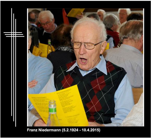 Diese Aufnahme stammt vom Geburtstagsständchen der Gemeinde Freienbach vom 14. Februar 2015