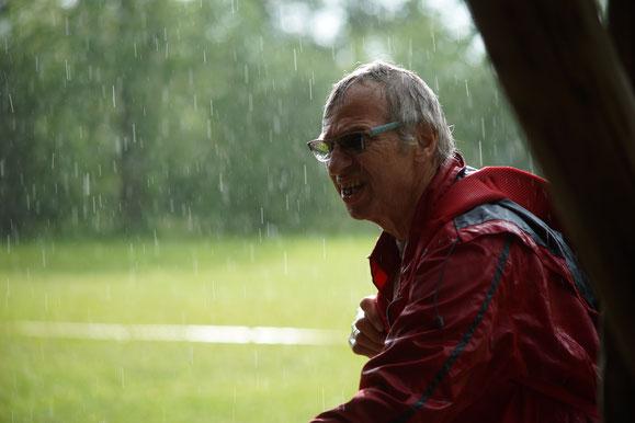 Holger Knie wartet auf besseres Wetter!