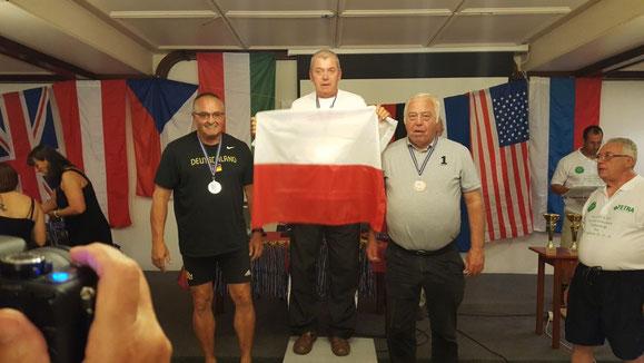 Roland Klingler (links) belegte bei der LSW-WM 2017 in Tata Rang 2!