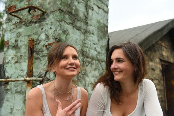 Agata Paulina & Meike Schrader               Foto: Till Haupt