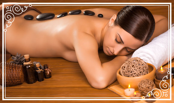 Massage, Nackenmassage, Hot Stone Massage, Kosmetikstudio Münchenbuchsee, Kosmetikerin
