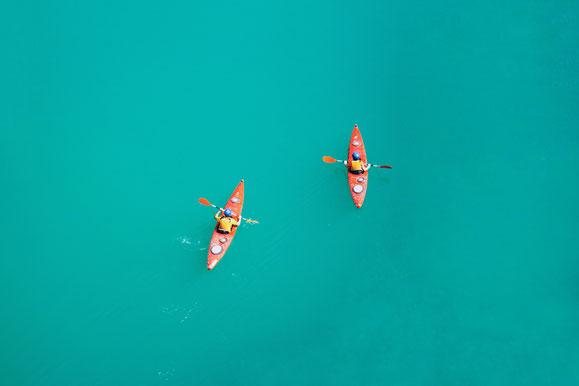 Kayak, British Virgin Island, Karibik, Karibische Inseln