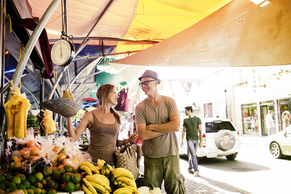 Floating Market, Curacao, Karibik, Karibische Inseln