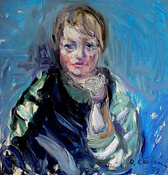 Edvard   1971, Öl auf LW, 57 cm x 59 cm
