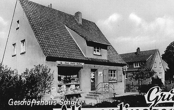 Geschäftshaus Otto Schäfer später Beuermann