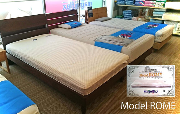 マニフレックス新製品 モデルローマ | マニフレックスは、マニステージ福岡へ。