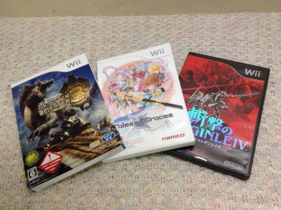 Wiiゲームソフト