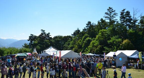 ▲モクフェス2012 会場風景