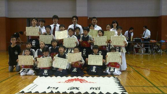 25年度川口市少年少女スポーツ大会(個人戦)