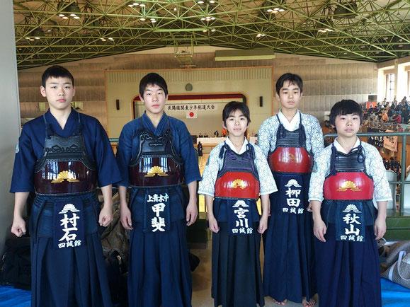 武陽旗関東少年剣道錬成大会