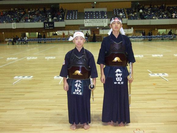 第38回全国道場少年剣道選手権大会(小・中学生男子の部)