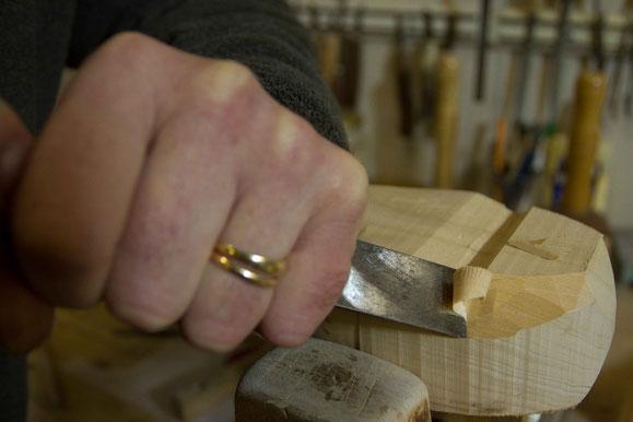 Apprendre la sculpture sur bois