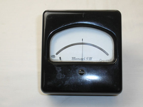 Nullspannungs - Galvanometer von Hartmann & Braun. Fertigungsjahr 1959